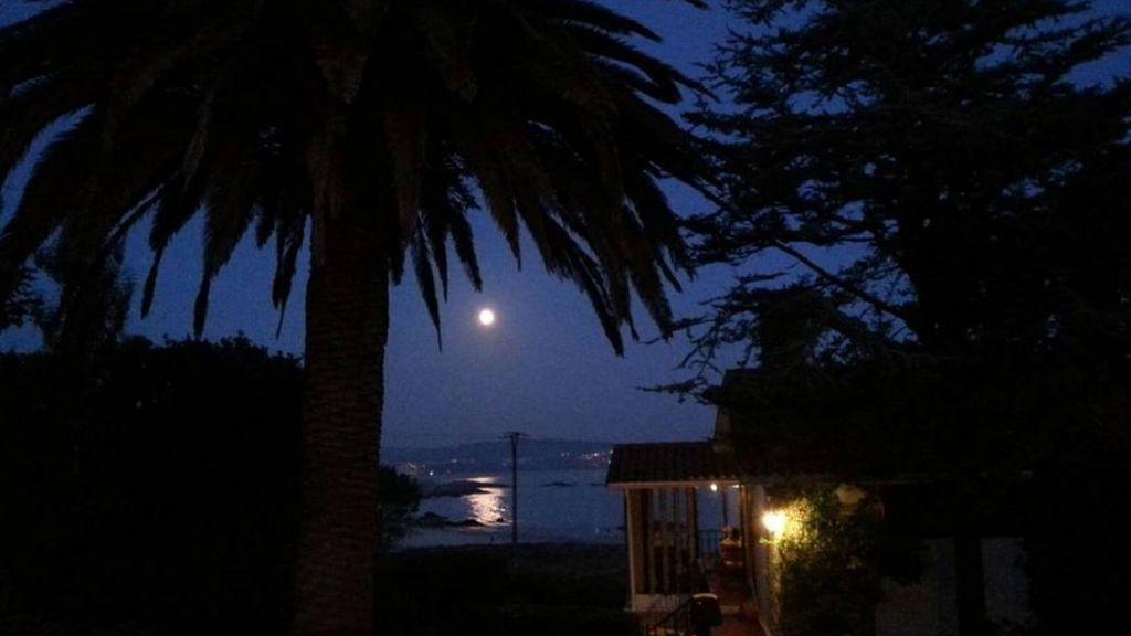 @alasdeplata retrata el paisaje desde O Grove (Pontevedra)