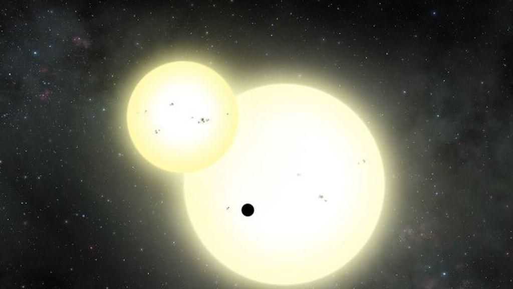 planeta dos soles NASA