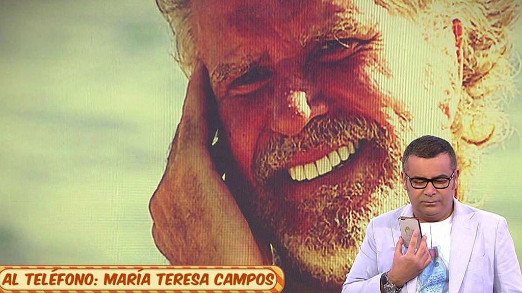 A Teresa Campos no se le ha pasado el mosqueo con J.J. Vázquez...