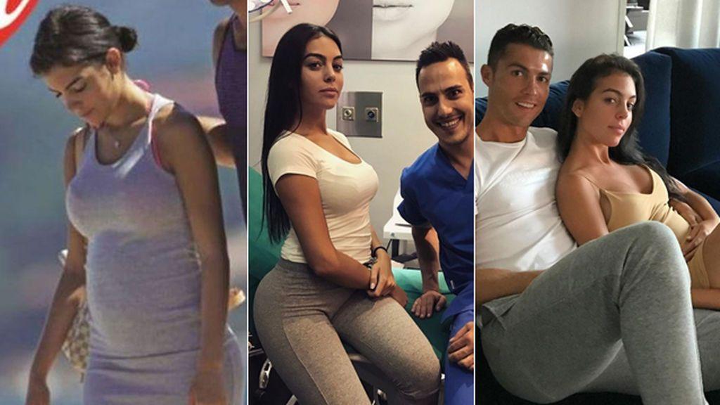 ¿Georgina Rodríguez y Cristiano Ronaldo, 'embarazados'? Cronología de un rumor