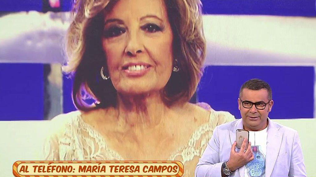 """Teresa Campos: """"Quiero seguir viviendo mi vida, la que he vivido"""""""