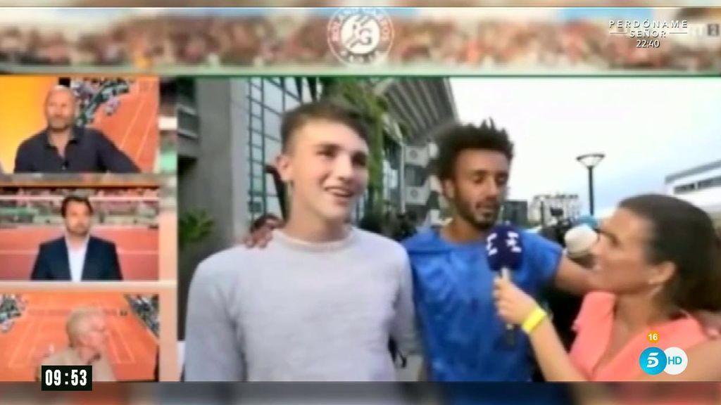 La periodista acosada por el tenista Hamou asegura que le hubiera dado un bofetón de no haber estado en directo