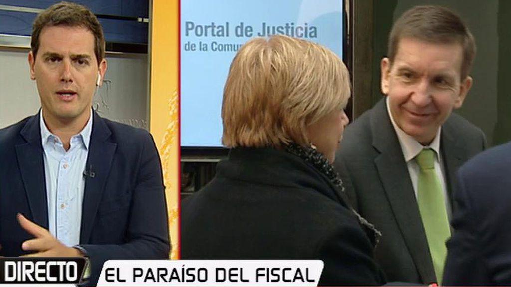 """Rivera cree que Moix debe marcharse: """"Es el fiscal preferido de algunos corruptos"""""""