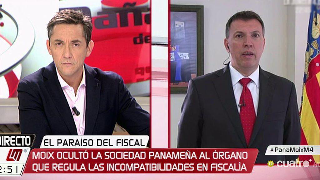 """Bosch: """"No es ético ni estético que un Fiscal Jefe Anticorrupción tenga una sociedad oculta en Panamá"""""""