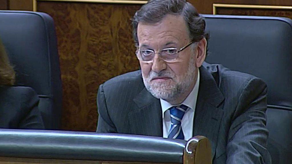 Rajoy se equivoca y vota en contra en una enmienda de los presupuestos