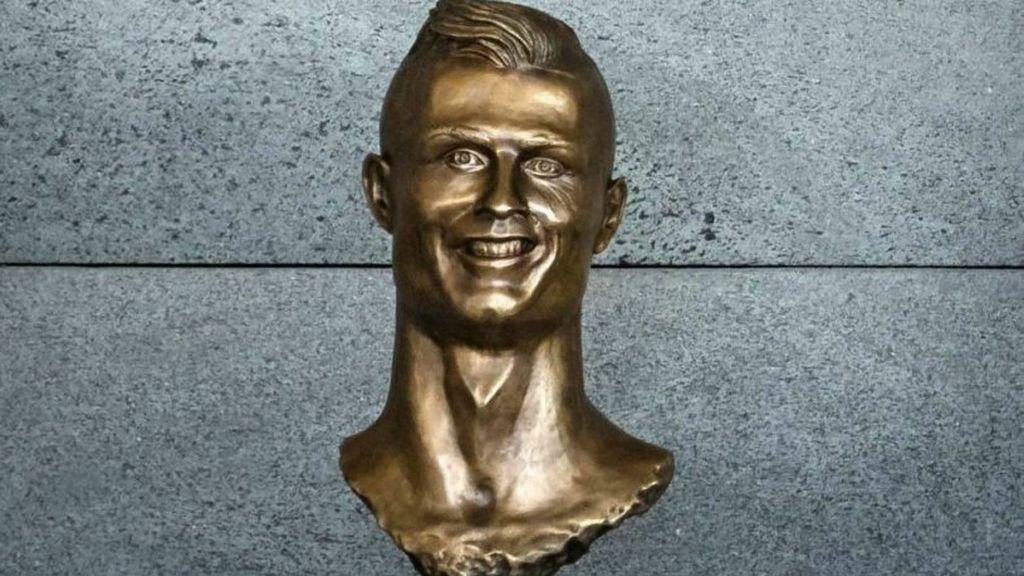El autor del busto de Cristiano vuelve a la carga... ¡con uno de Gareth Bale!