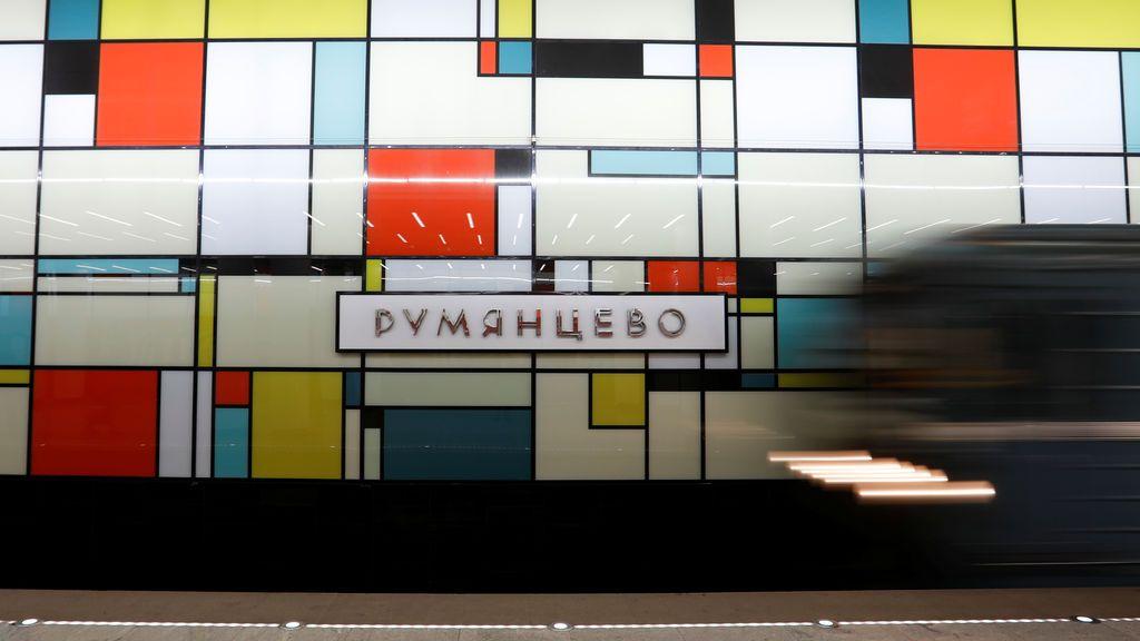 La estación de metro más moderna de Rusia
