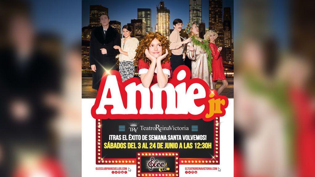 El musical 'Annie Jr' irrumpe en el Teatro Reina Victoria para el deleite de los más pequeños
