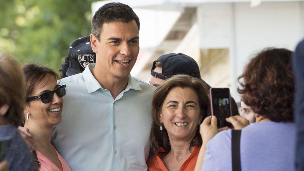 """Sánchez dice sentirse """"próximo"""" a los votantes de Podemos pero descarta apoyar la moción"""