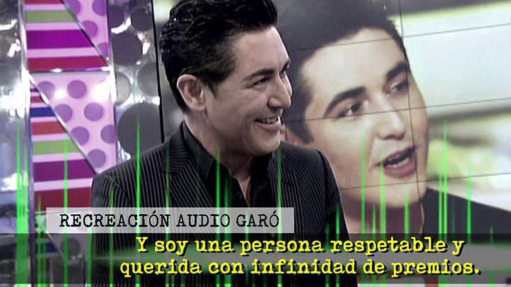 El durísimo mensaje que Garó dejó en el contestador de la expareja de un amigo