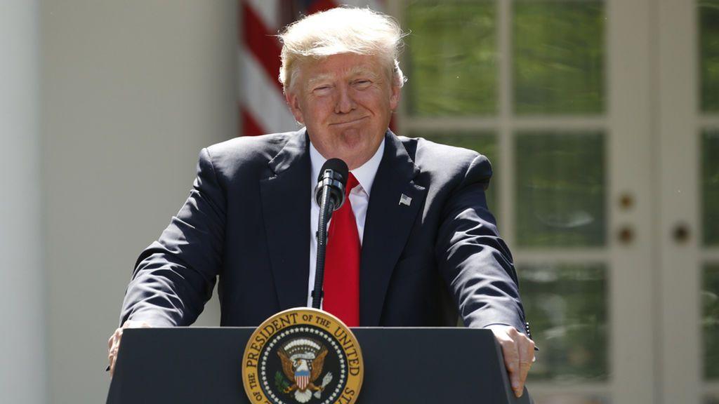 Trump retira a Estados Unidos del Tratado de Paris