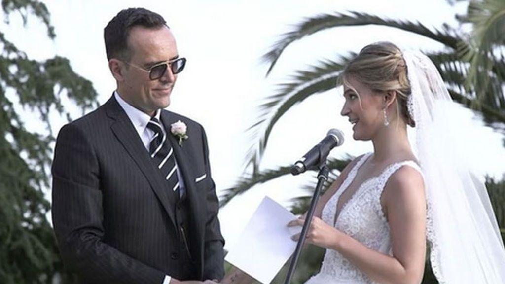 """Risto, de aniversario:  """"Felicidades Laura, amor mío y a los que no nos daban ni dos años"""""""