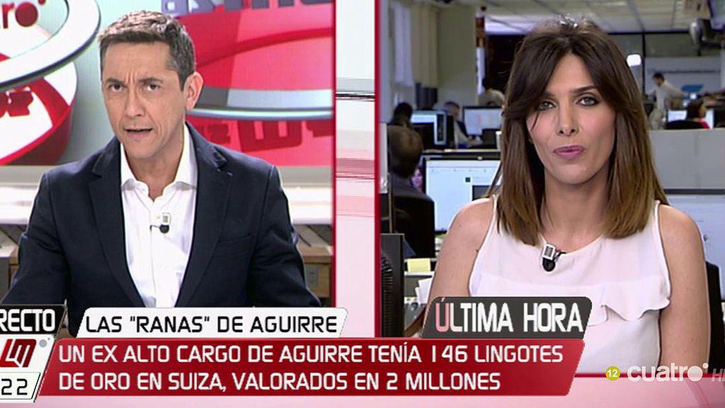 Un ex alto cargo de Aguirre tenía 146 lingotes de oro en Suiza, según 'El Mundo'