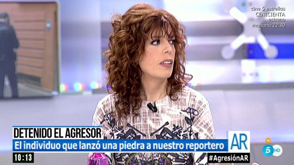 """El agresor de la calle Topete vive en el portal de al lado de María José: """"No me esperaba su reacción"""""""