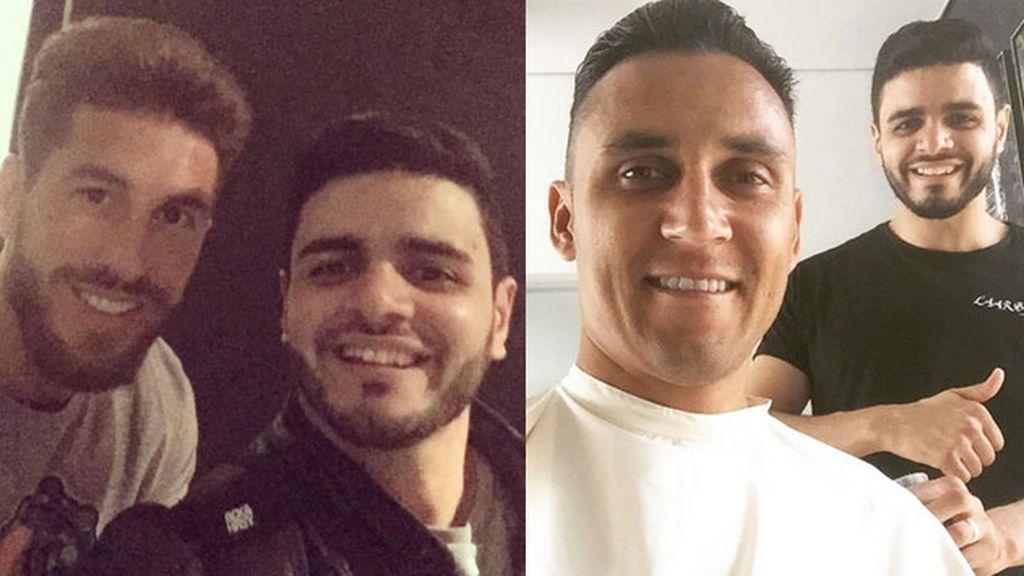 ¿Sabes dónde se cortan el pelo los jugadores del Real Madrid?