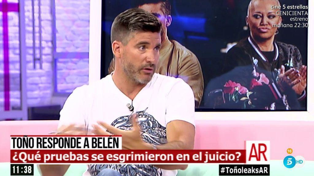 Toño Sanchís no ha ofrecido dinero a Belén Esteban para no llegar a juicio