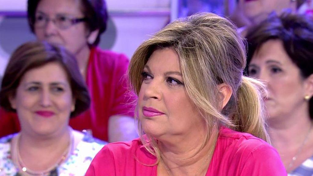 """Terelu Campos: """"En este momento, lo único que me importa es cómo esté mi madre"""""""