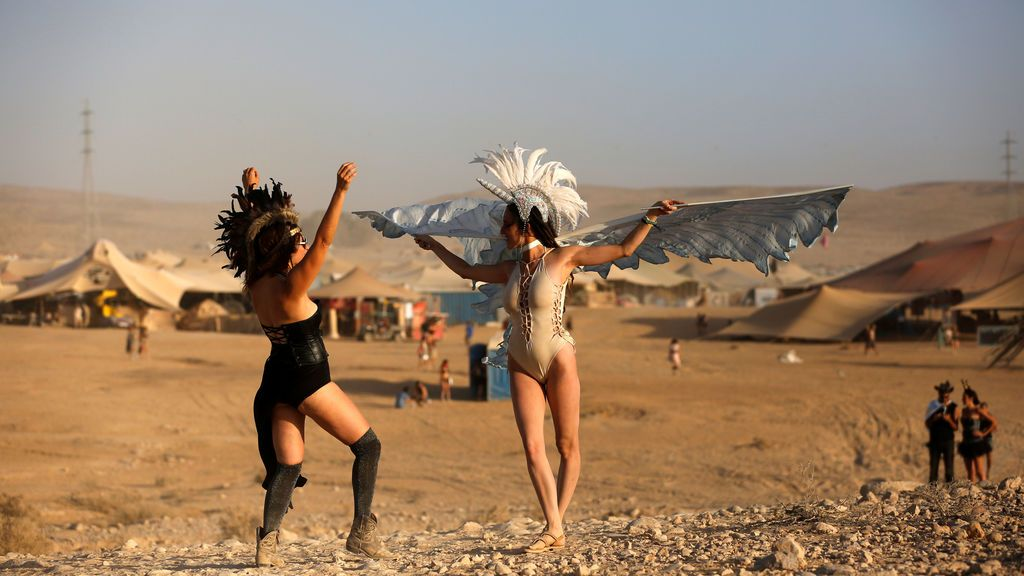El Midburn, un festival en el sur de Israel