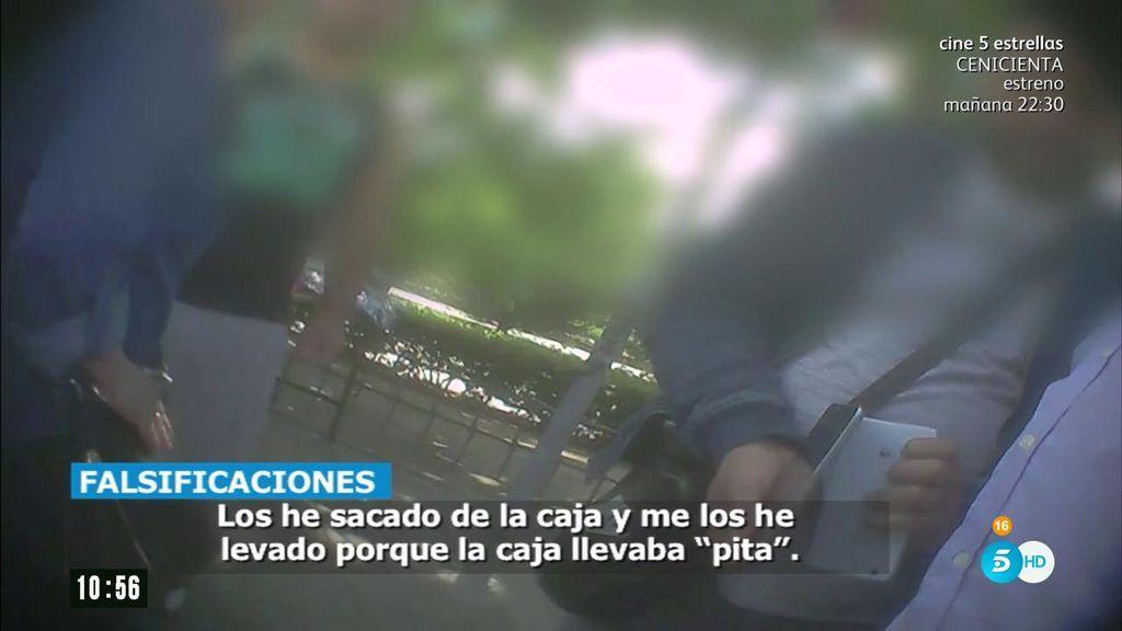 La venta de productos falsificados y móviles robados a la orden del día en los mercadillos madrileños