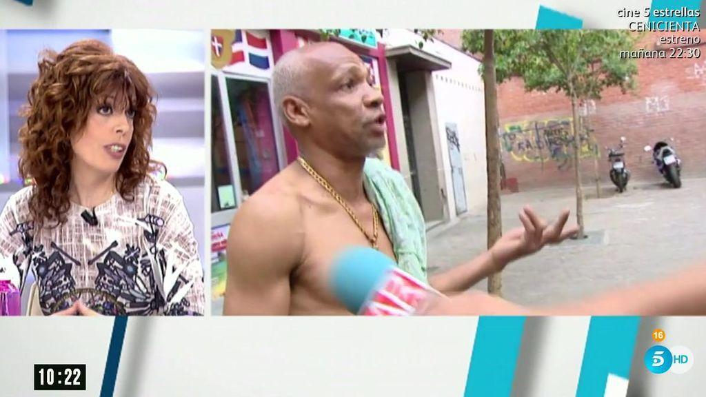 """María José, vecina de la calle Topete agredida: """"Tengo bastante miedo, ayer no salí de casa"""""""