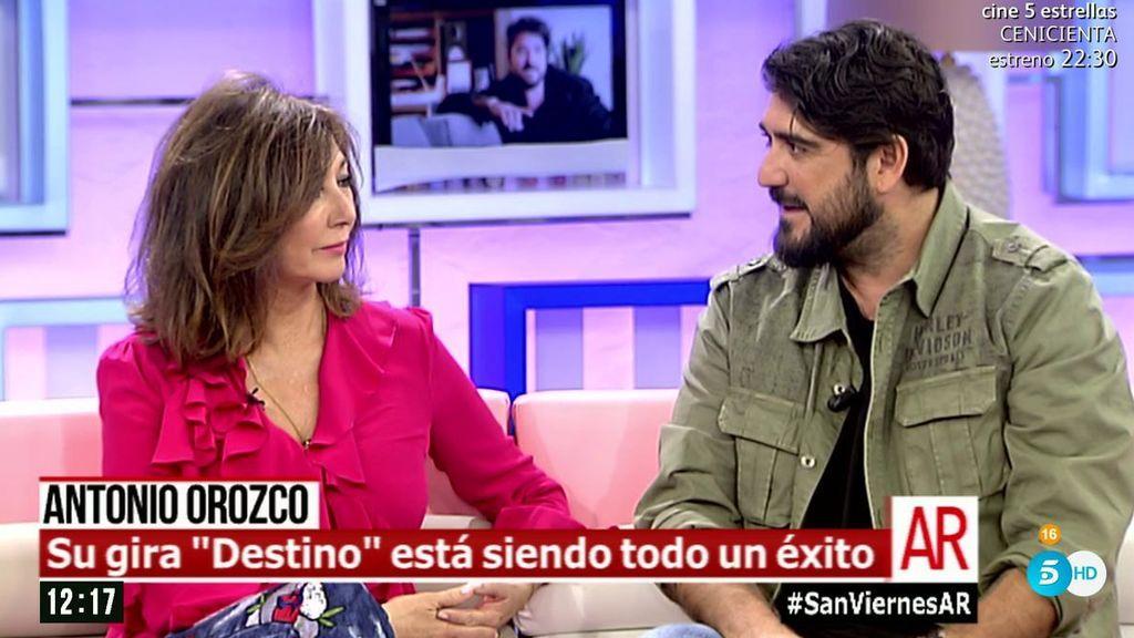 """Antonio Orozco: """"Es muy difícil ser un buen padre, pero lo intento todos los días"""""""