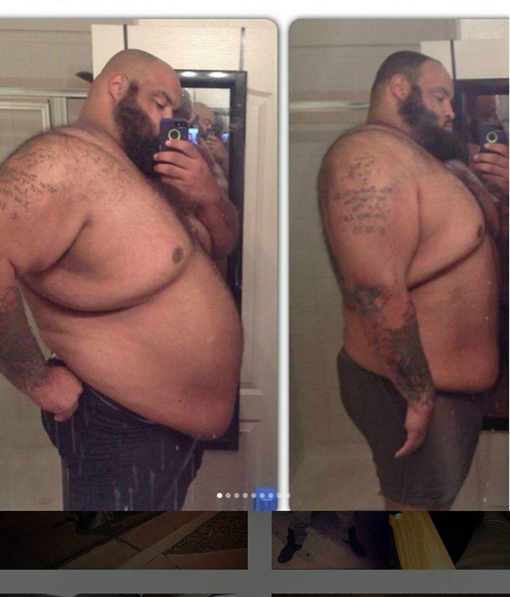 Llegó a pesar 272 kilos... pero no te puedes creer su inrecíble transformación gracias al deporte