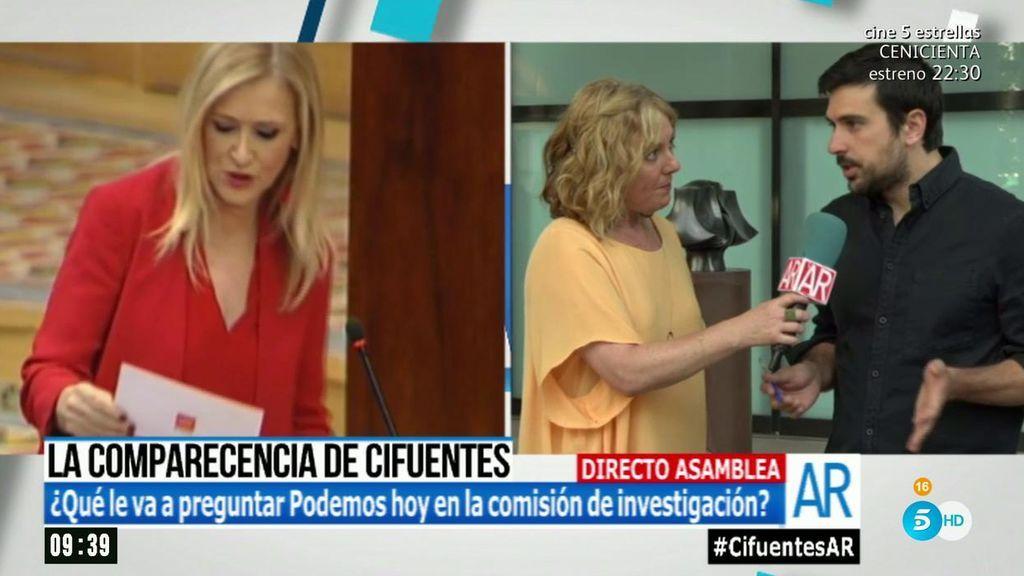 """Ramón Espinar: """"Cristina Cifuentes está tensa, pero que no mate al mensajero"""""""