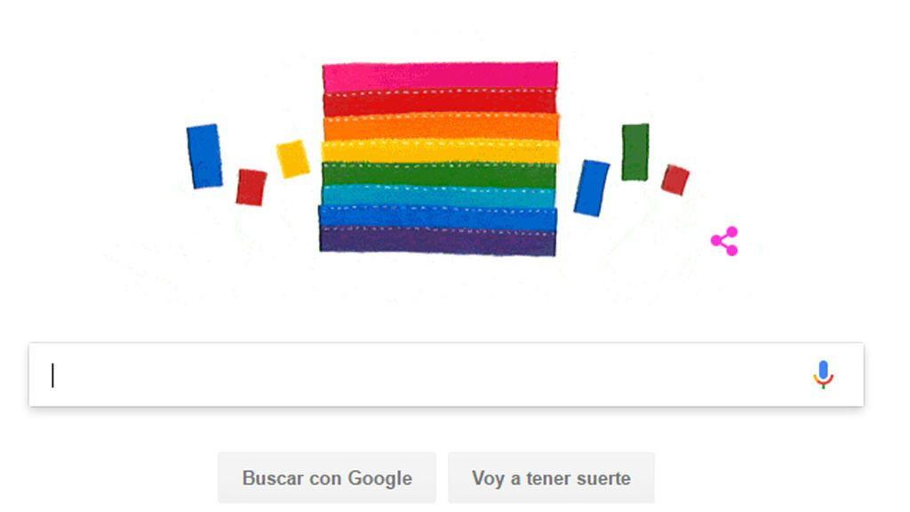 El doodle dedicado a Gilbert Baker, el hombre que creó la bandera del orgullo gay