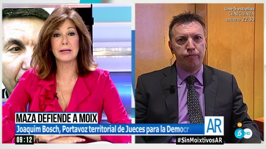 """Joaquim Bosch: """"Debemos tener personas con referentes éticos al frente de las instituciones"""""""