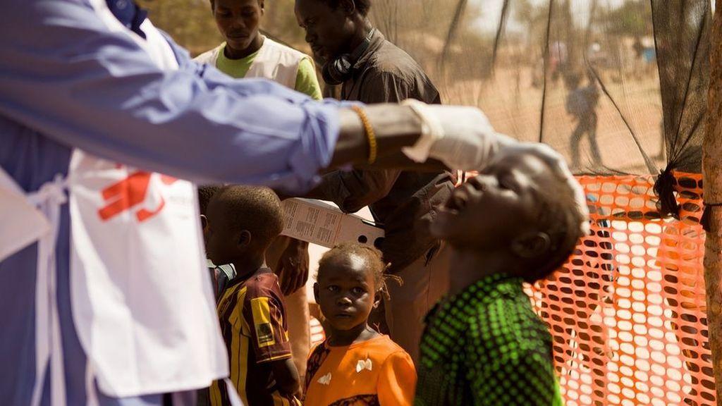 Mueren quince niños en Sudán del Sur tras ser vacunados contra la polio