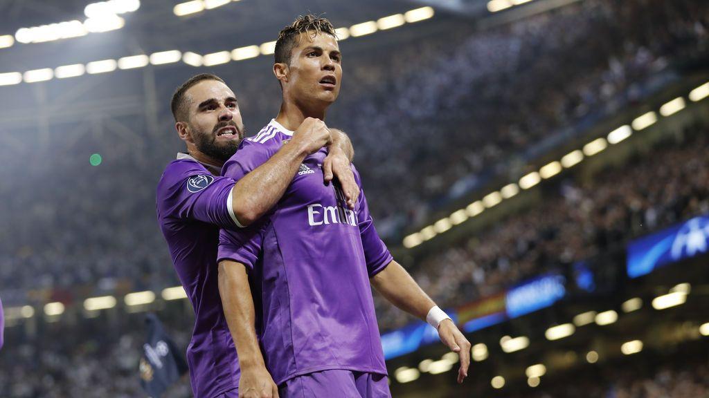 Cristiano hace historia tras ser el primer jugador en marcar en tres finales de Champions