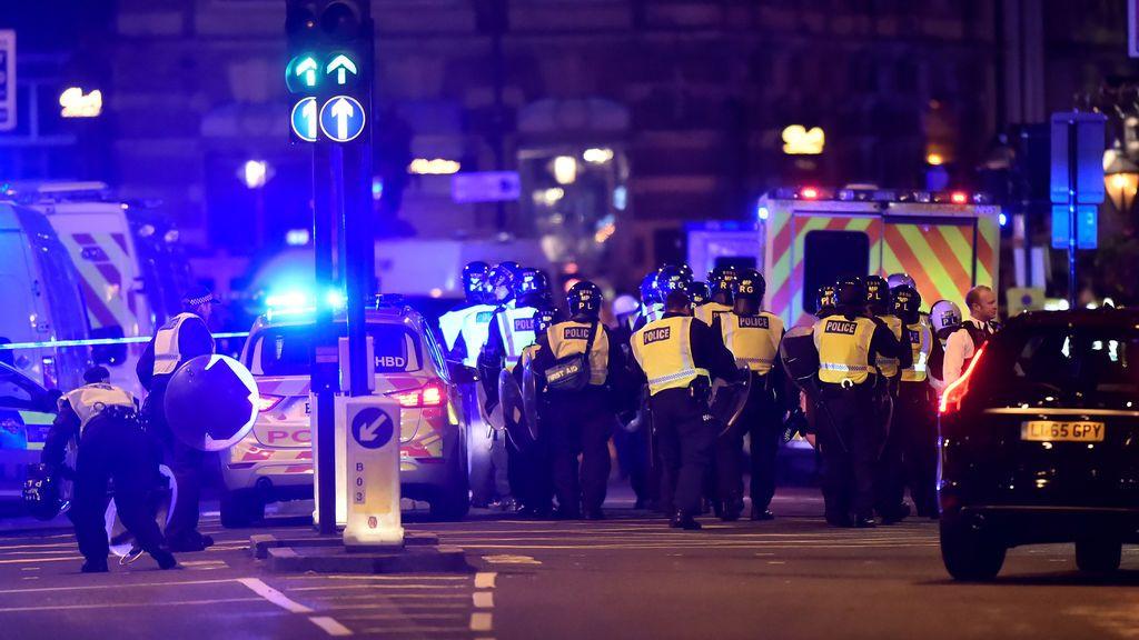 Las primeras imágenes tras el atropello múltiple en el Puente de Londres