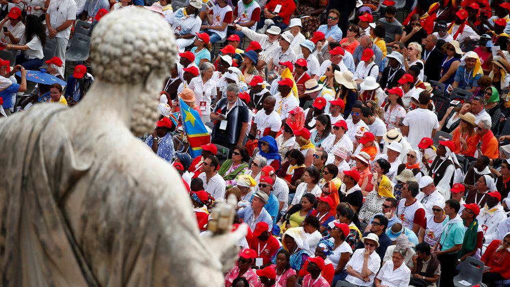 Celebración de Pentecostés en el Vaticano