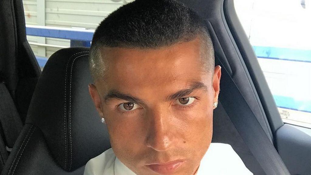 ¡Cristiano Ronaldo rapado! El portugués se corta el pelo por la Duodécima