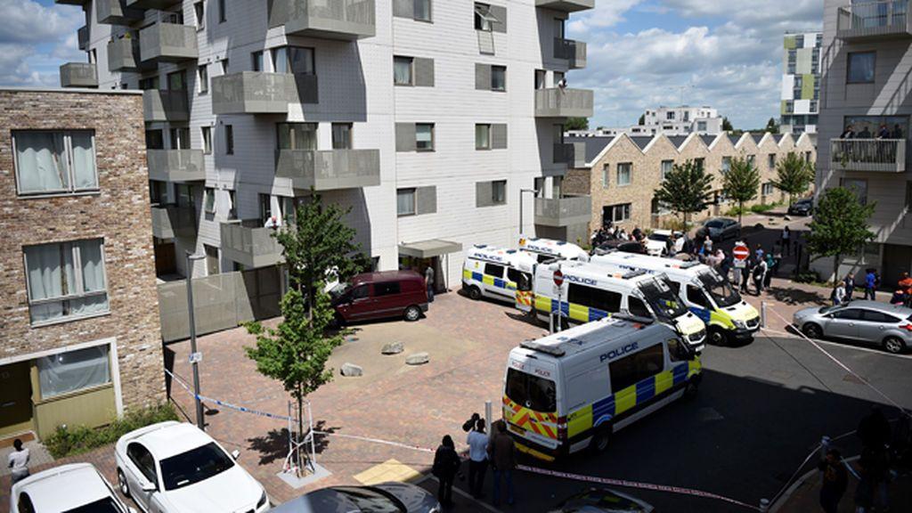 La Policía inglesa detiene a cinco personas en relación con el atentado de Londres