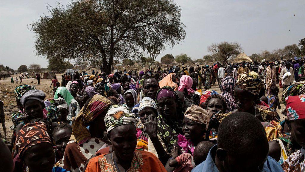 Desplazados Sudán Sur