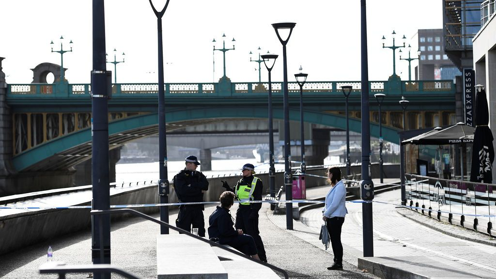 Así amanece Londres tras el ataque en el que han muerto siete personas
