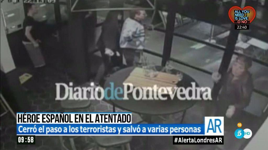 El español que se ha convertido en un héroe en los atentados de Londres