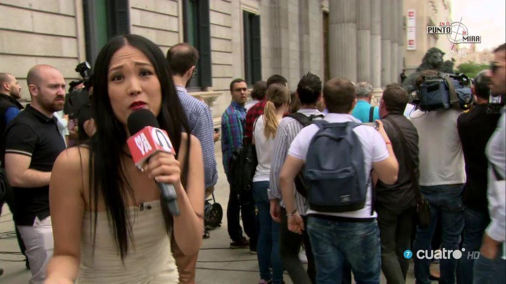 Pablo Iglesias le da 'calabazas' a Maya en su primer día como reportera de 'Dani&Flo'