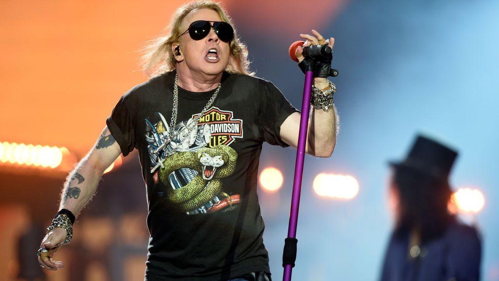 ¡Axl Rose es del Atleti! El momentazo del concierto de Guns N'Roses que emocionó a los colchoneros