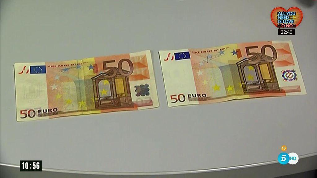 Cómo saber identificar un billete falso en tres pasos