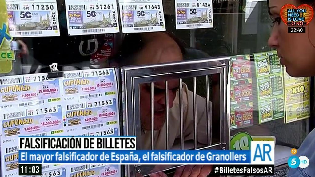 'El programa de AR', tras la pista del 'falsificador de Granollers', el mayor artesano de billetes falsos de España
