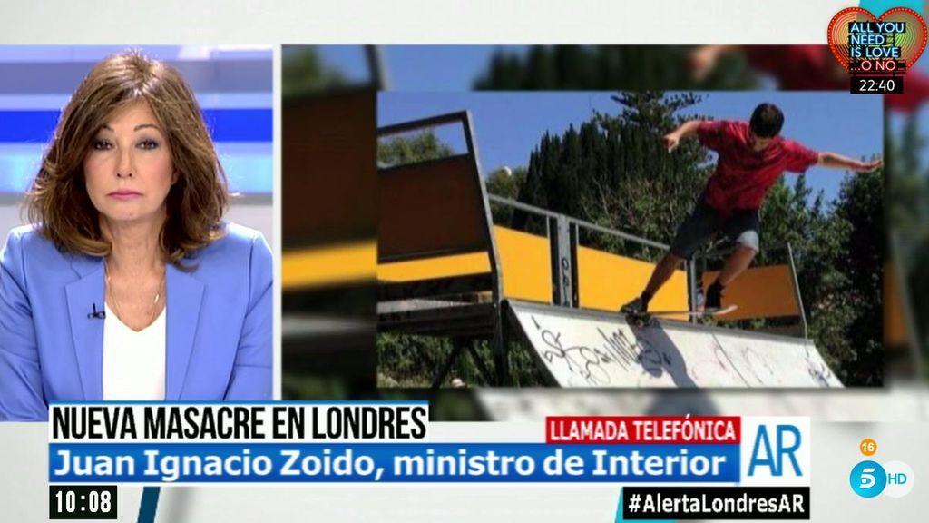 """Juan Ignacio Zoido, ministro de Interior: """"Las autoridades británicas nos piden paciencia"""""""