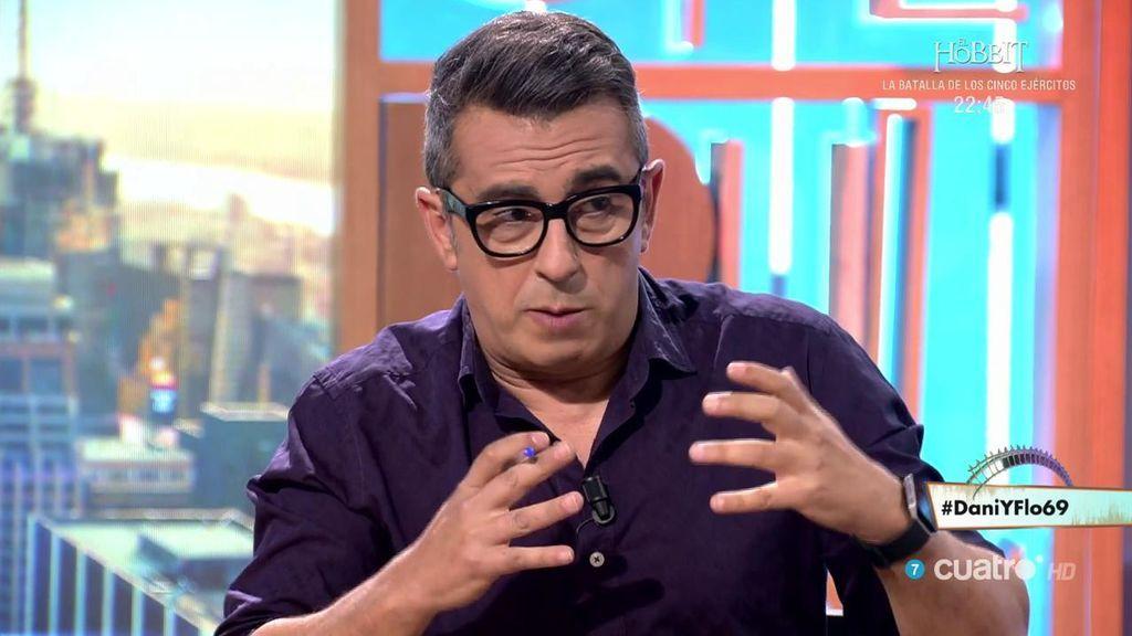 """Buenafuente desvela la clave de su relación con Berto: """"Lo veo y no nos decimos nada"""""""