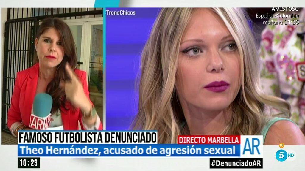 El futbolista Theo Hernández, acusado de agresión sexual por Luisa Kremleva ('Mujeres y hombres'): ¿qué pasó esa noche?