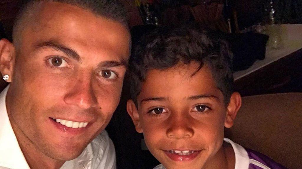 La felicitación de Cristiano Ronaldo a su hijo en las redes sociales