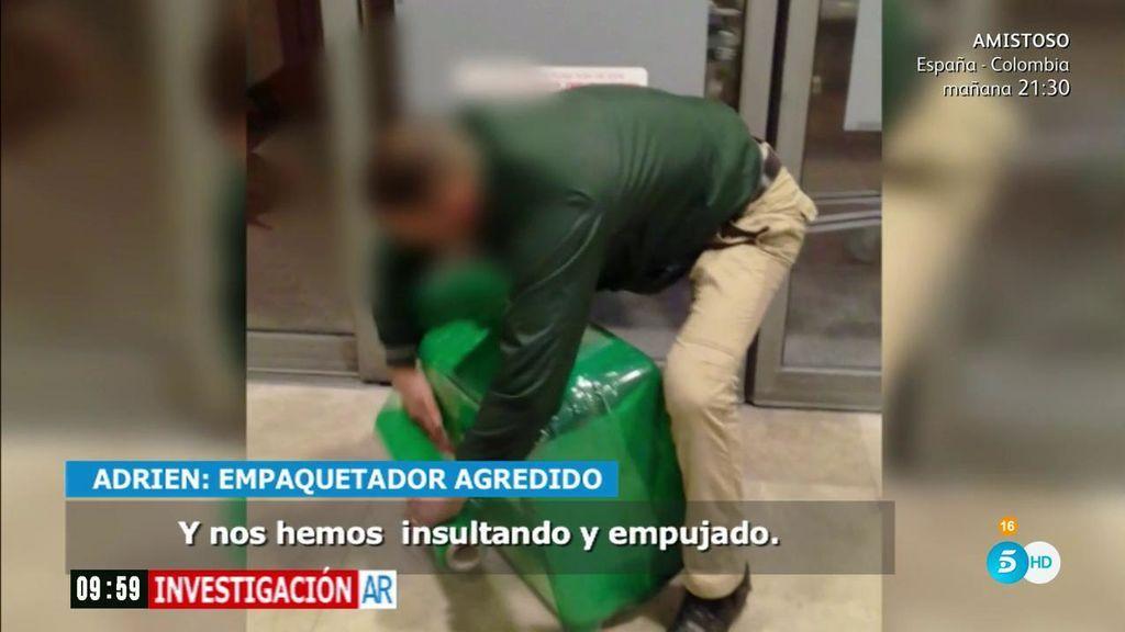 Mafía de las maletas: los empaquetadores ilegales agreden a los trabajadores contratados