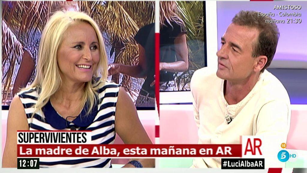 """Lucía Pariente: """"Fonsi Nieto me parece una bella persona"""""""