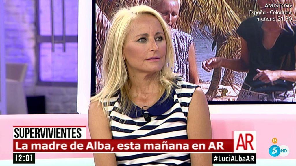 """Lucía Pariente, de su marido: """"Él está más tranquilo cuando no estamos"""""""