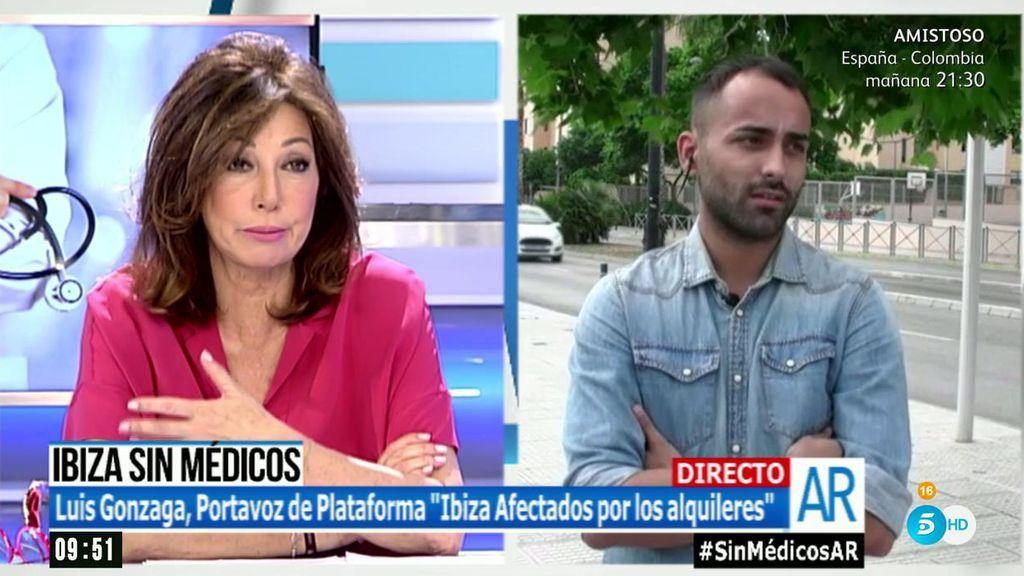 """Luis Gonzaga, de 'Ibiza Afectados por los alquileres': """"Las administraciones tienen que ponerse las pilas"""""""
